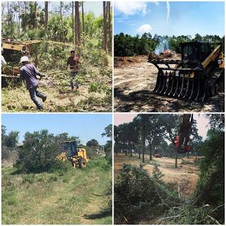 Alat Yang Digunakan Dalam pekerjaan Land Clearing/pekerjaan land clearing