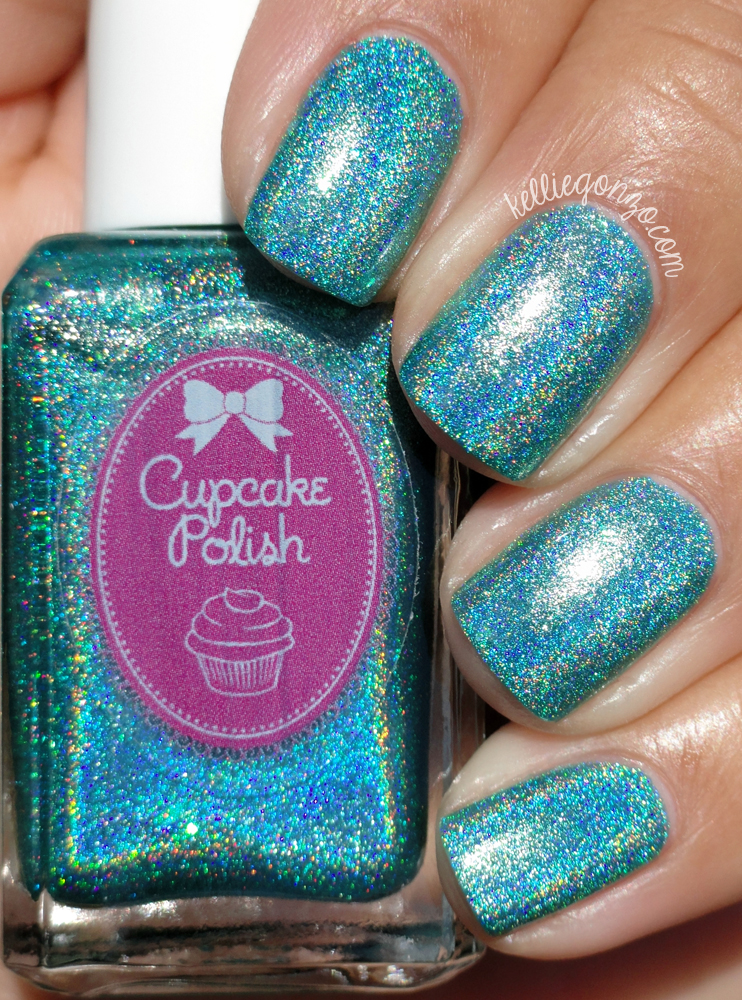 Cupcake Polish From Cancun, With Love