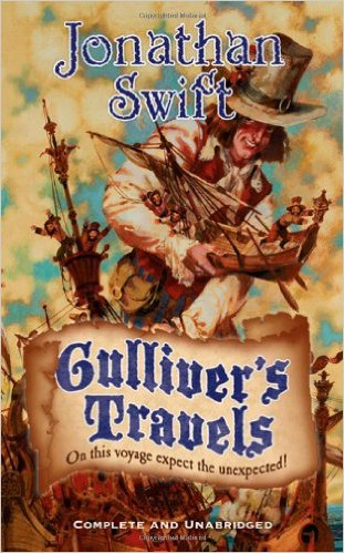 An analysis of book 1 of the novel gullivers travels by jonathan swift