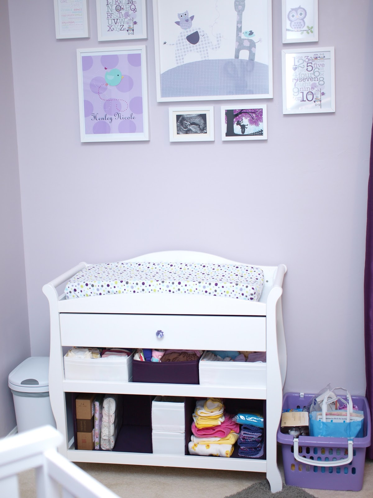 Ikea Ribba Ledges Our Own Kind Of Paradise Baby G Nursery Is Complete