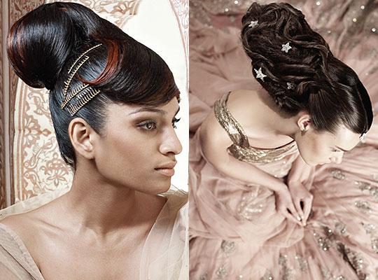 10 Lavish Wedding Hairstyles For Long Hair: South Indian Wedding Hairstyles For Long Hair