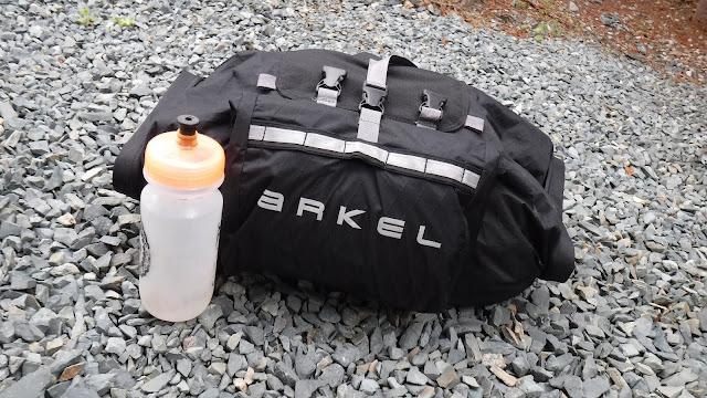 Arkel Rollpacker 25 bikepacking stuff full