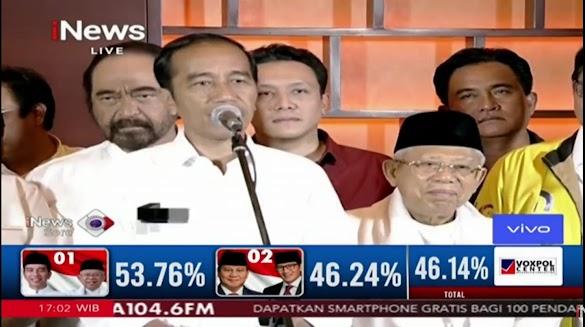 Sikapi Hasil Quick Count, Jokowi Belum Menyampaikan Kemenangan, Ada Apa?