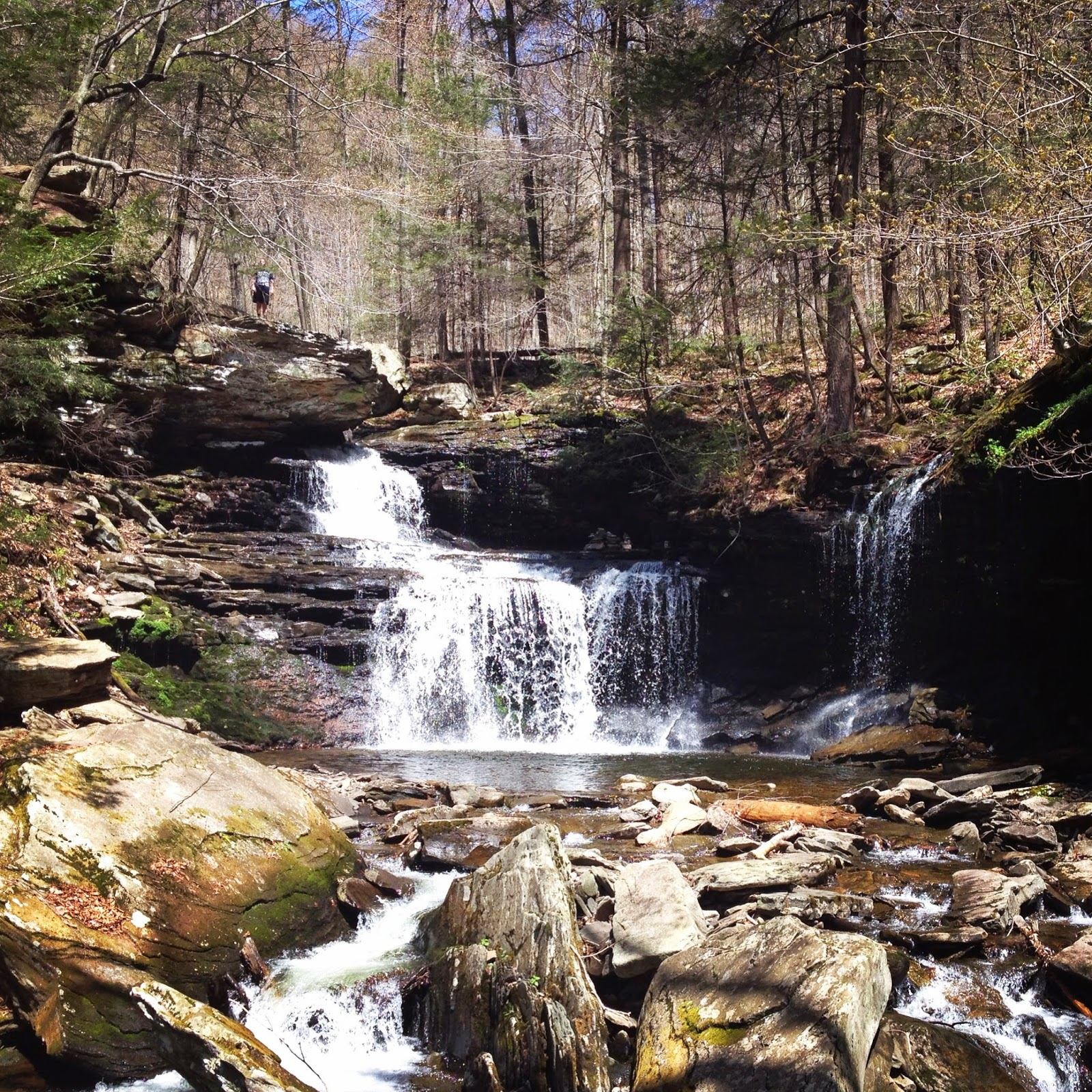 Ricketts Glen Falls trail