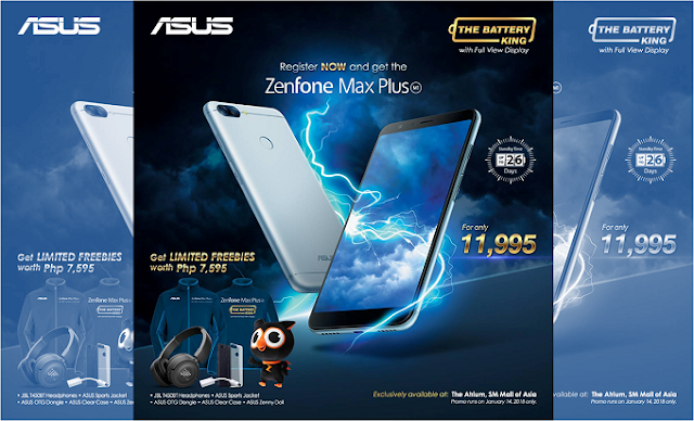 Asus Zenfone Max Plus Price