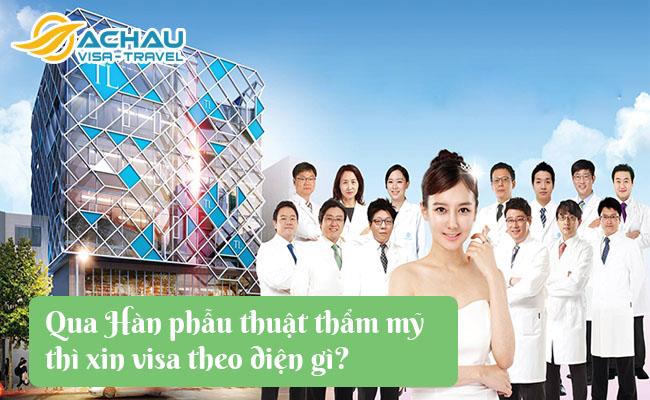 qua han phau thuat tham my xin visa theo dien gi