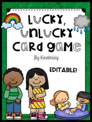 https://www.teacherspayteachers.com/Product/Lucky-Unlucky-ELA-Card-Game-Editable-3025342