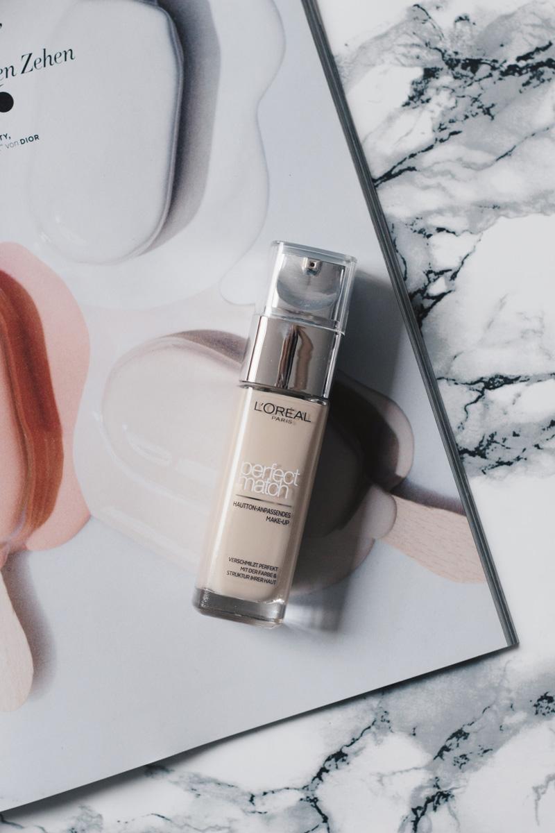 Beauty Favoriten Juli 2017 Beauty Essentials Loreal Perfect Match Foundation Review Little Emma Duesseldorf