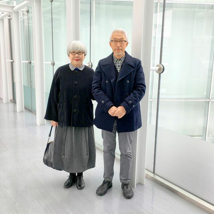 #9 - This Couple Married For 37 Years Always Dress In Matching Outfits
