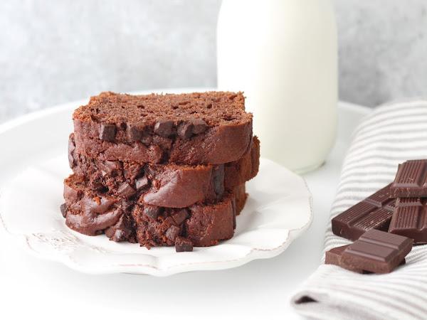 Plumcake integrale al cioccolato