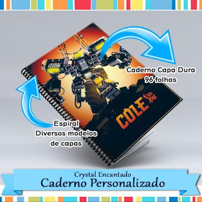 Cadernos Lego Ninjago