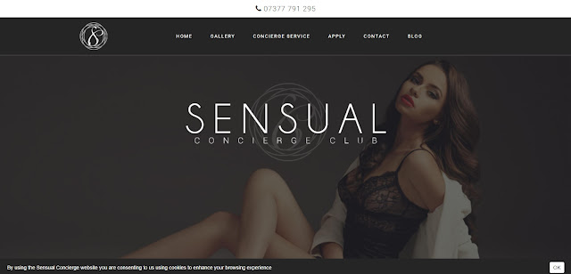 Sensual Concierge Homepage