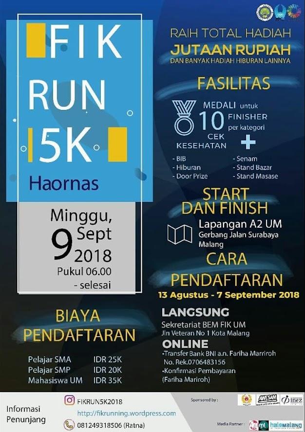 FIK Run HAORNAS • 2018