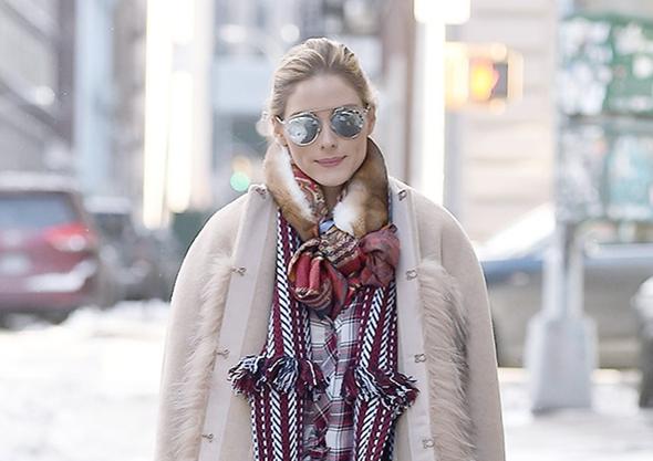 2017-01-08 オリヴィア・パレルモ(Olivia Palermo)ニューヨークにて。
