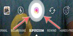 Cara Menggunakan Fitur 'Superzoom' Di Instagram
