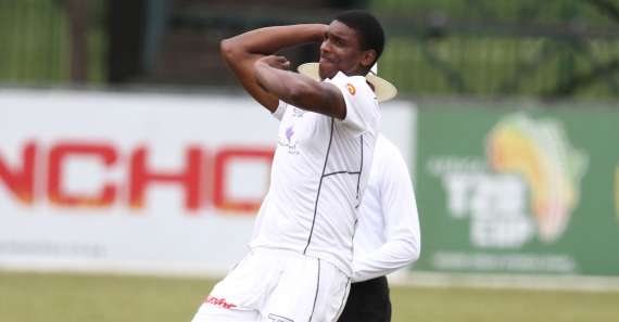 Kerwin Mungroo (Credit: Anesh Debiky) - Sunfoil Series - Hollywoodbets Dolphins - Cricket - Bowling