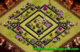 Base COC th 8 Anti Naga 03