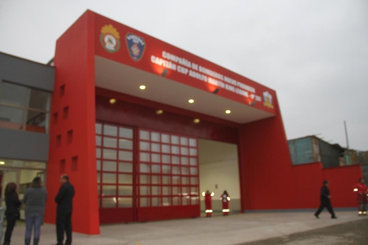 Estación de Bomberos Voluntarios Capitán Rafael Glave Chávez - Miraflores N° 187