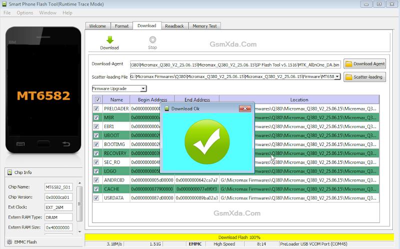 mt6582 android scatter emmc txt скачать