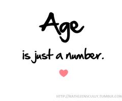 whatever she feels like writing....: Like I said, age is
