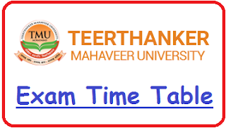TMU Moradabad Date Sheet 2019