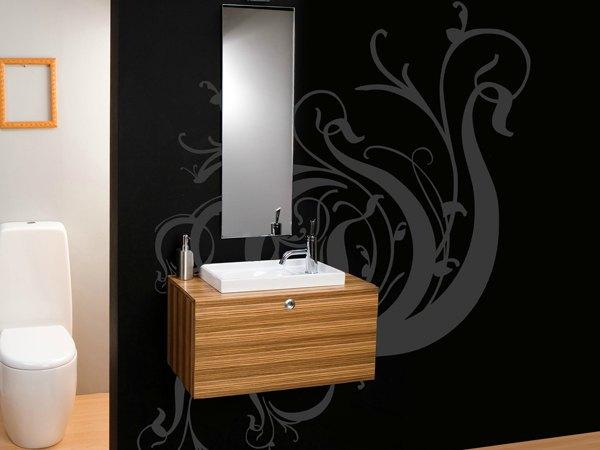 Decoración En Baños Originales:15 ideas originales para decorar paredes de baños – Decoracion en el