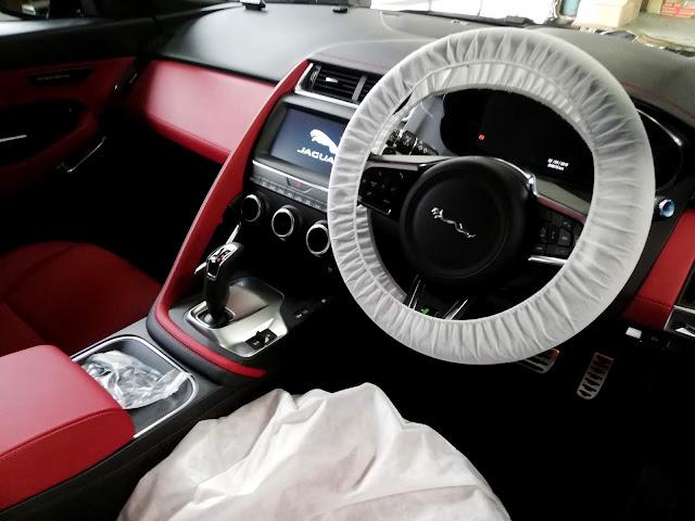 ジャガー/E-PACE 出張内外美装仕上げ+フッ素樹脂簡易コーティング5