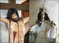 Jésus, Marie et l'enfant - La Serena - Chili