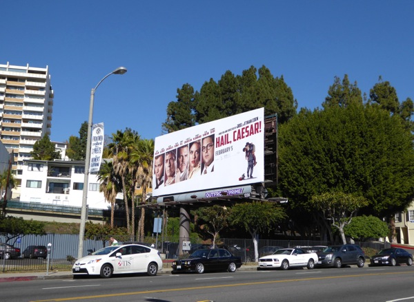 Hail Caesar billboard