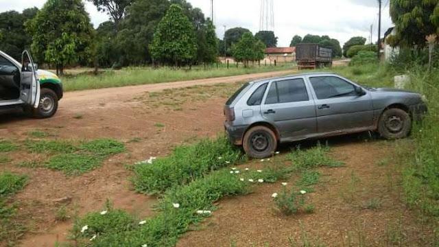 Veículo furtado em Ji-Paraná é recuperado pela PM de Urupá