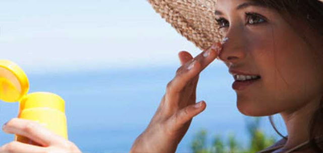 Melasma Home Remedies sunscreen