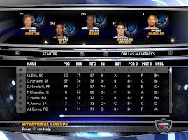 NBA 2k14 Custom Roster Update v4 : February 21st, 2015 - Trade Deadline - Mavericks Roster