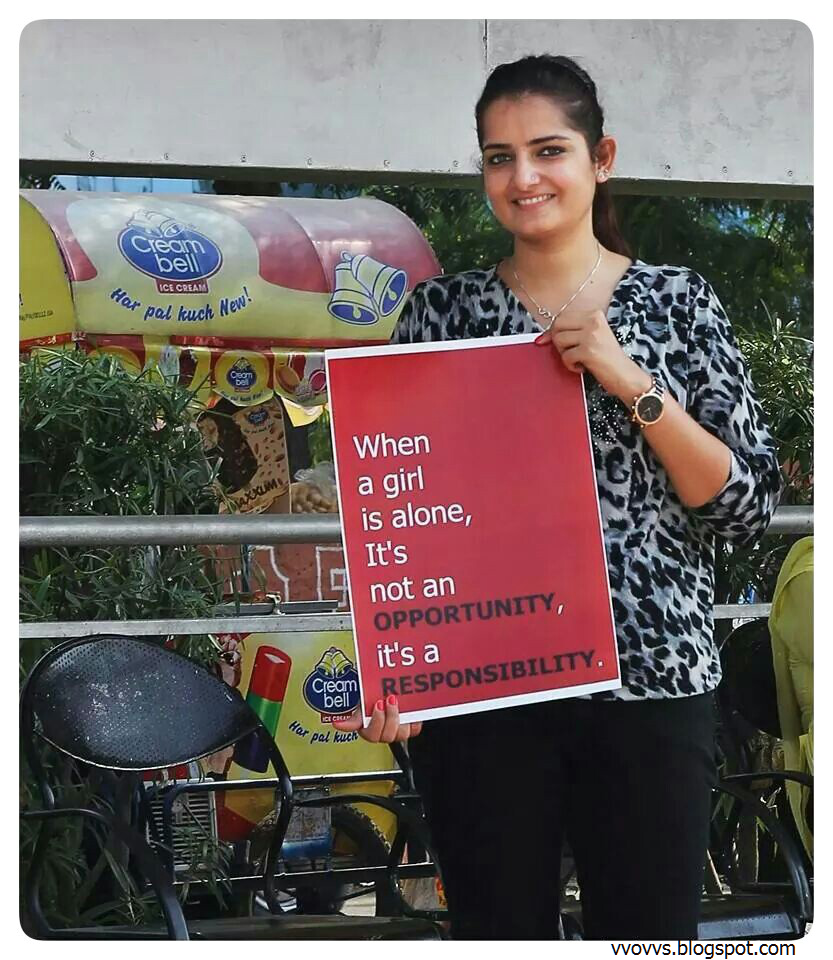 Respect Whatsapp Dp: Wows: Girls Want To Say Something Important To The World