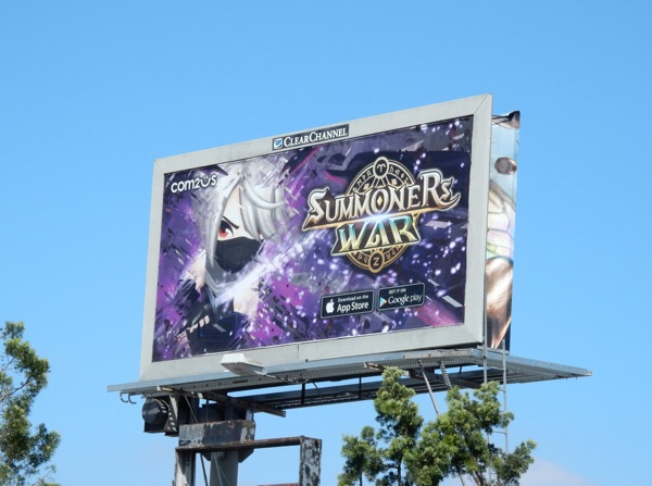 Summoners War 2015 billboard