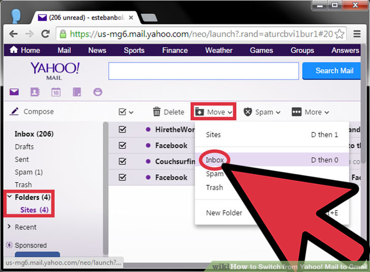 Hotmail Login: Guide check for new mail to Yahoo Mail is not