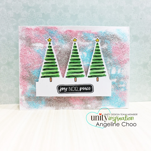 ScrappyScrappy: [NEW VIDEO] Create your own Glitter Paper with Unity Stamp #scrappyscrappy #unitystampco #card #cardmaking #timholtz #distressglitter #glitter #christmas #holiday #quicktipvideo #youtube #video