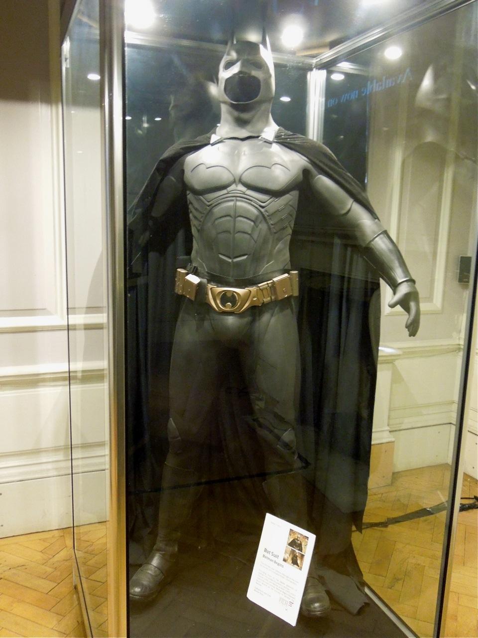 Christian Bale Batman Begins Suit