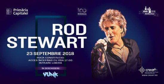 Concert ROD STEWART la Zilele Bucurestiului 2018