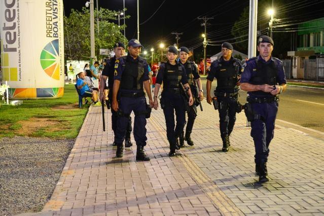 Boa Vista (RR) - Policiamento reforçado garante tranquilidade na avenida
