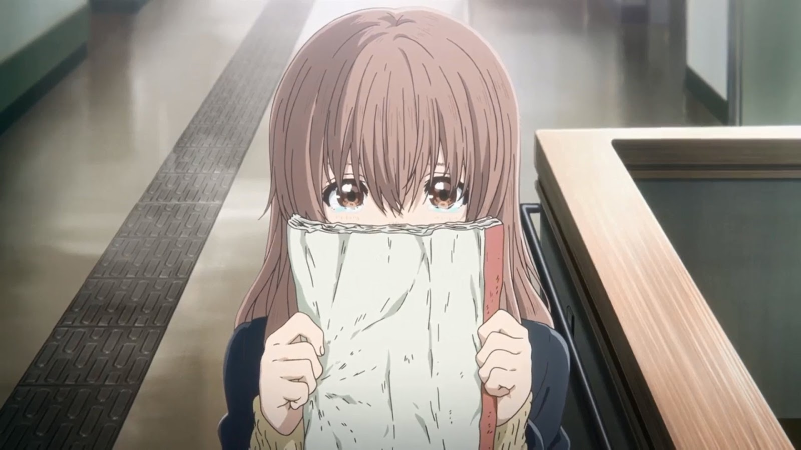 Nishimiya Shouko - bohaterka anime Koe no Katachi