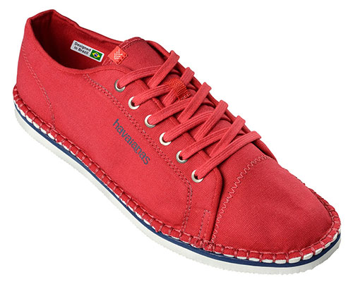 Havaianas Alpargatas Sneaker Layers III vermelho