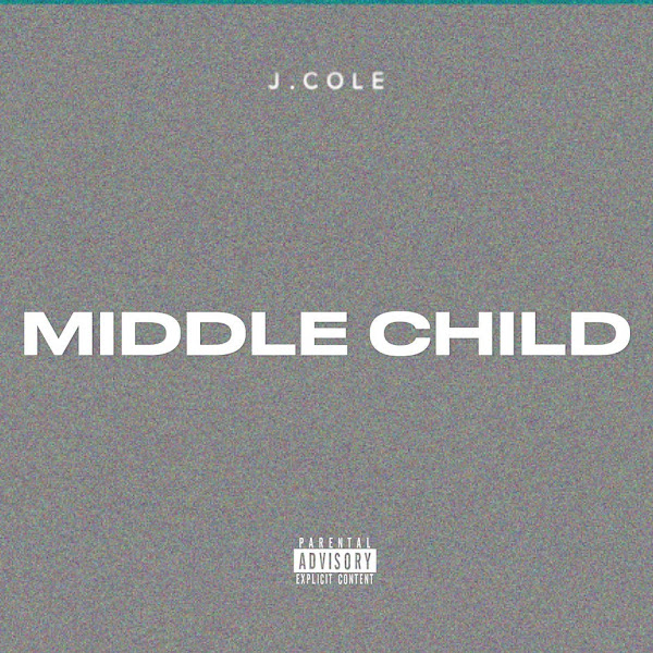 J. Cole - MIDDLE CHILD - Single Cover