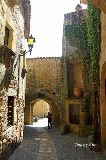Calle Mayor de Pals, Girona