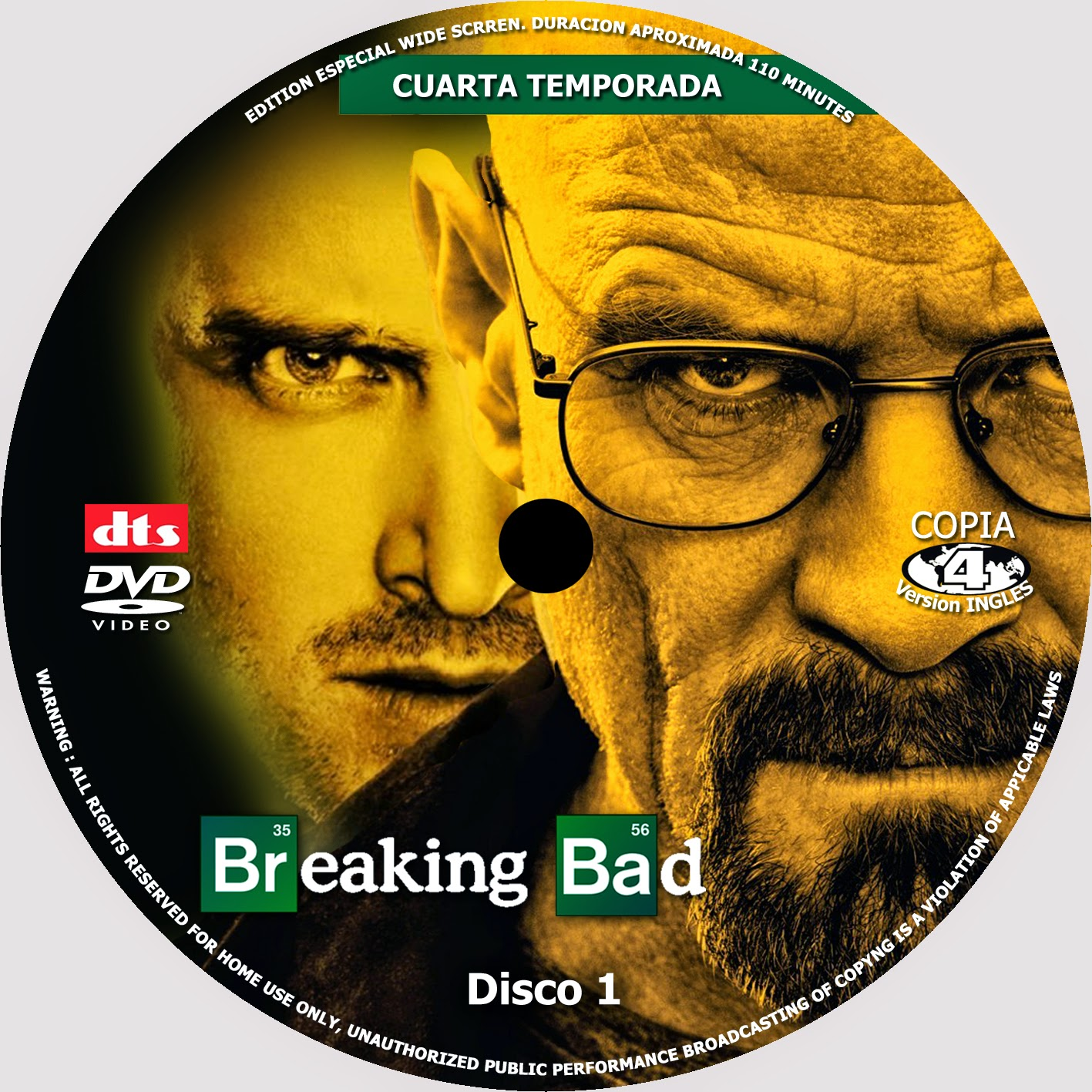 COVERCARATULAS DE DVD - CD COVERCREATORS: BREAKING BAD \