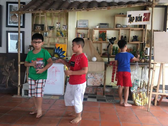 Trung tâm dạy vẽ cho trẻ em ở tphcm Zest Kids