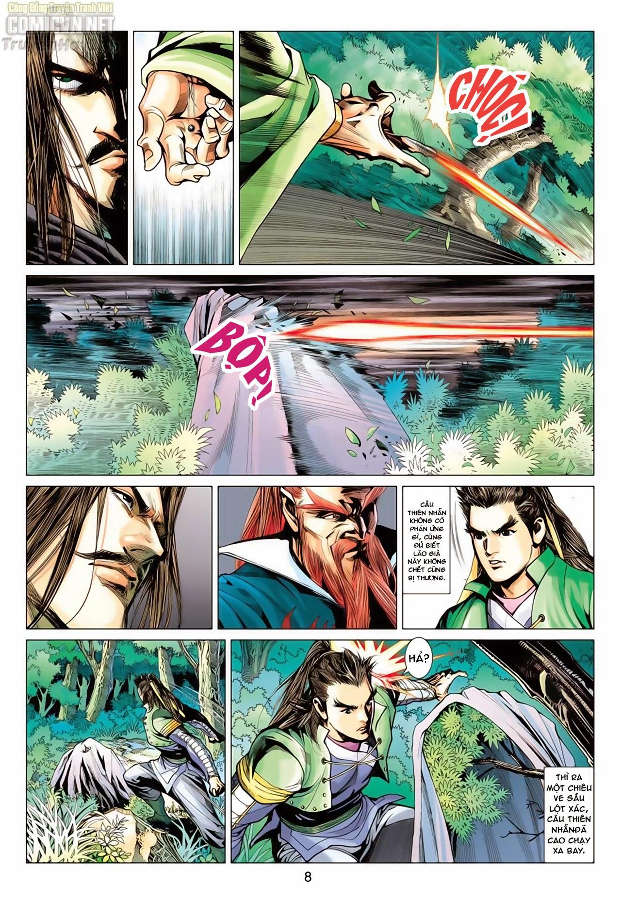 Anh Hùng Xạ Điêu anh hùng xạ đêu chap 65: cái bang tân chủ trang 8