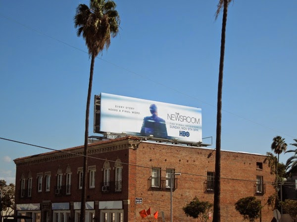The Newsroom final episodes billboard