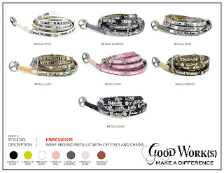 good works wrap bracelet chains viktor viktoria