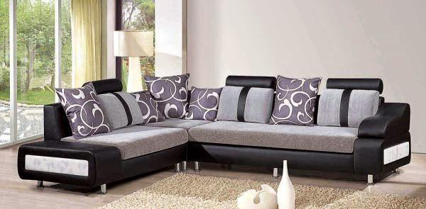 sofa minimalis furnitur ruang tamu modern