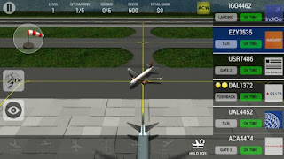 Screenshots of the Unmatched Air Traffic Control for Android tablet, phone.